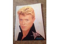 David Bowie programme Serious Moonlight Tour 1983