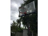 SOLD. Large adjustable basket ball Hoop