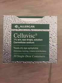 Celluvisc 1% w/v eye drops