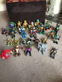 Ninja Turtles Action Figures Bundle