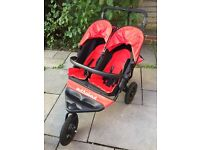 Out n About Nipper V4 Double buggy for sale - excellent condition
