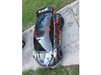 Traxxas rally rc car brushless