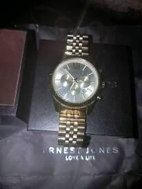 Mens Micheal kors gold watch