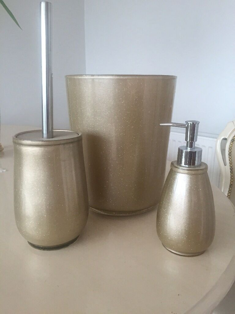 Brand new bathroom toilet brush buy sale and trade ads for Gold bathroom bin