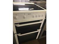 BEKO 60CM WIDE WHITE ELECTRIC COOKER