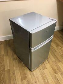 Logik Silver Undercounter Fridge Freezer