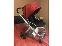Babystyle Oyster Pushchair Burgundy