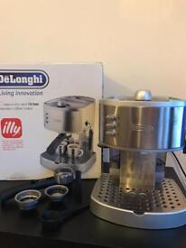 DeLonghi illy coffee machine