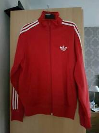 Men's XL Adidas track jacket and Fred Perry Coat and Track Jacket