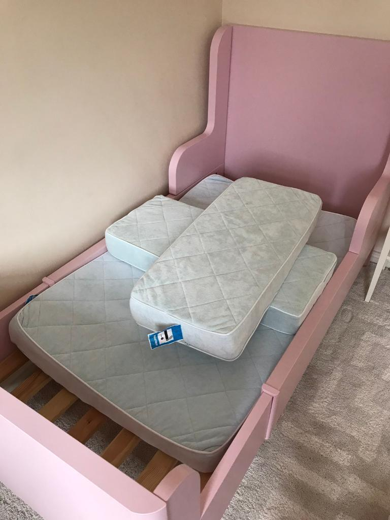 Open to offers!! Ikea pink bed