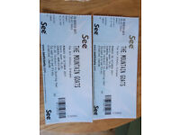 2 TICKETS - MOUNTAIN GOATS, GLASGOW ART SCHOOL (SELL OUT SHOW) 09/10/17