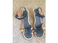 Ladies Kickers Sandals size 38