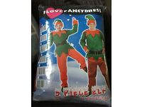 Elf Fancydress costume new