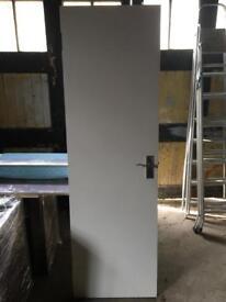 Solid Pine Internal Door Antique H198cm x L61cm x D4.3cm Surbiton