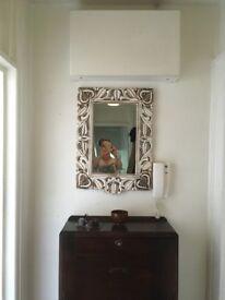 Hawaiian style mirror