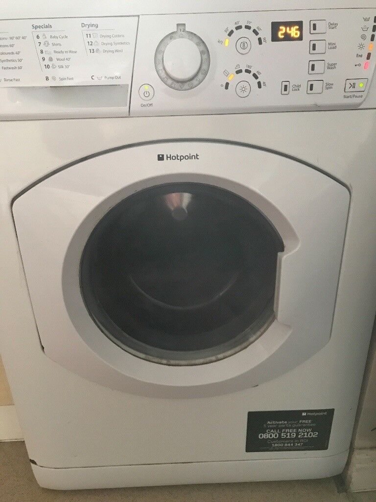 Hotpoint washer/dryer 5years old in good working order