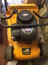 Mculloch petrol mower