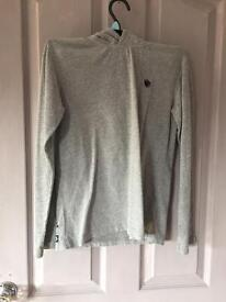 Fat face hooded top