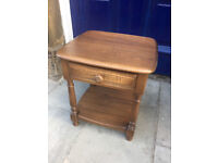 ERCOL side table /lamp table in good condition. In golden dawn Must be seen RRP £599 OUR PRICE £250