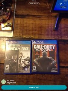 Rainbow six and black ops 3