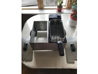 Domestic deep fat fryer - used
