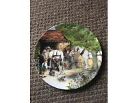 Royal doulton 'the blacksmith' old country crafts plate