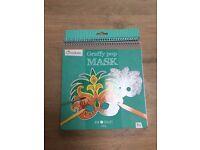 Fun Cutout Rio Mask Colouring Book