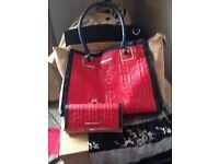 River island bag and purse