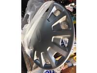 Mk5 mk6 mk7 transit wheel trims . 15 inch x3