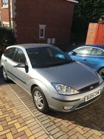 Ford Focus 1.6 Zetec Climate, low mileage, great condition