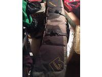 Burton Snow Board, Bag and Bindings