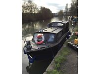 Small London house boat for sale