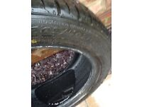 Immaculate condition virtually new tyre