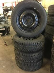 205 65R 16 GISLAVED NORDFROST 200 WINTER SNOW TIRES & RIMS HYUNDAI SONATA KIA OPTIMA CAMRY 5X114.3 BOLT MINT CONDITION