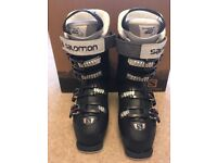Salomon Black ski boots size 23.5 (3) X Pro 80W
