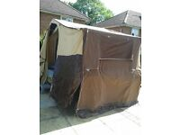 RACELET TRAILER TENT WITH AWNING