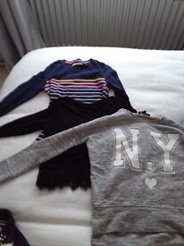 Girl's clothes 10-12 yrs