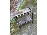 FREE old wooden drinks trolley