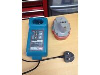 Makita battery charger model DC1804 charges £30