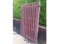 Antique Wooden Gate