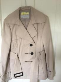 Short Zara trench coat size 38/L