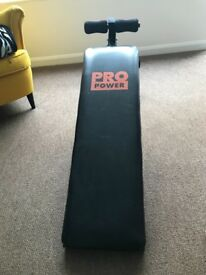 Pro power abs bench - Lightly used