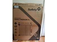 Safety 1st wooden barrier
