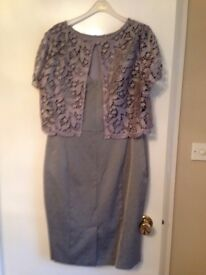 Ladies grey dress size 16 fenn wright manson