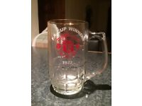 Collectable Manchester United tankard. 1977 FA Cup