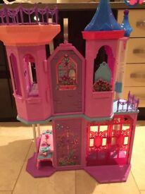 Barbie Mariposa Crystal Palace / Castle