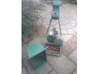 Qualcast Suffolk Punch petrol lawn mower - spares or repair