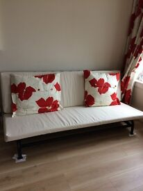 Brand New Ikea Sofa Bed With Cream Fabric Seating