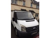ford transit diesel van low miles long mot drive well