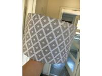 Bundle of 2 silver light shades